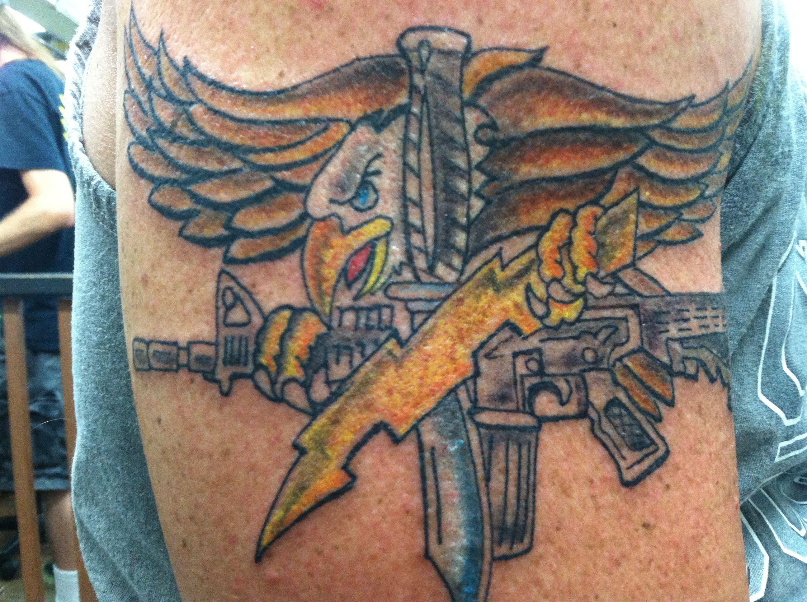 Fi fireman tattoo designs - Swat Eagle