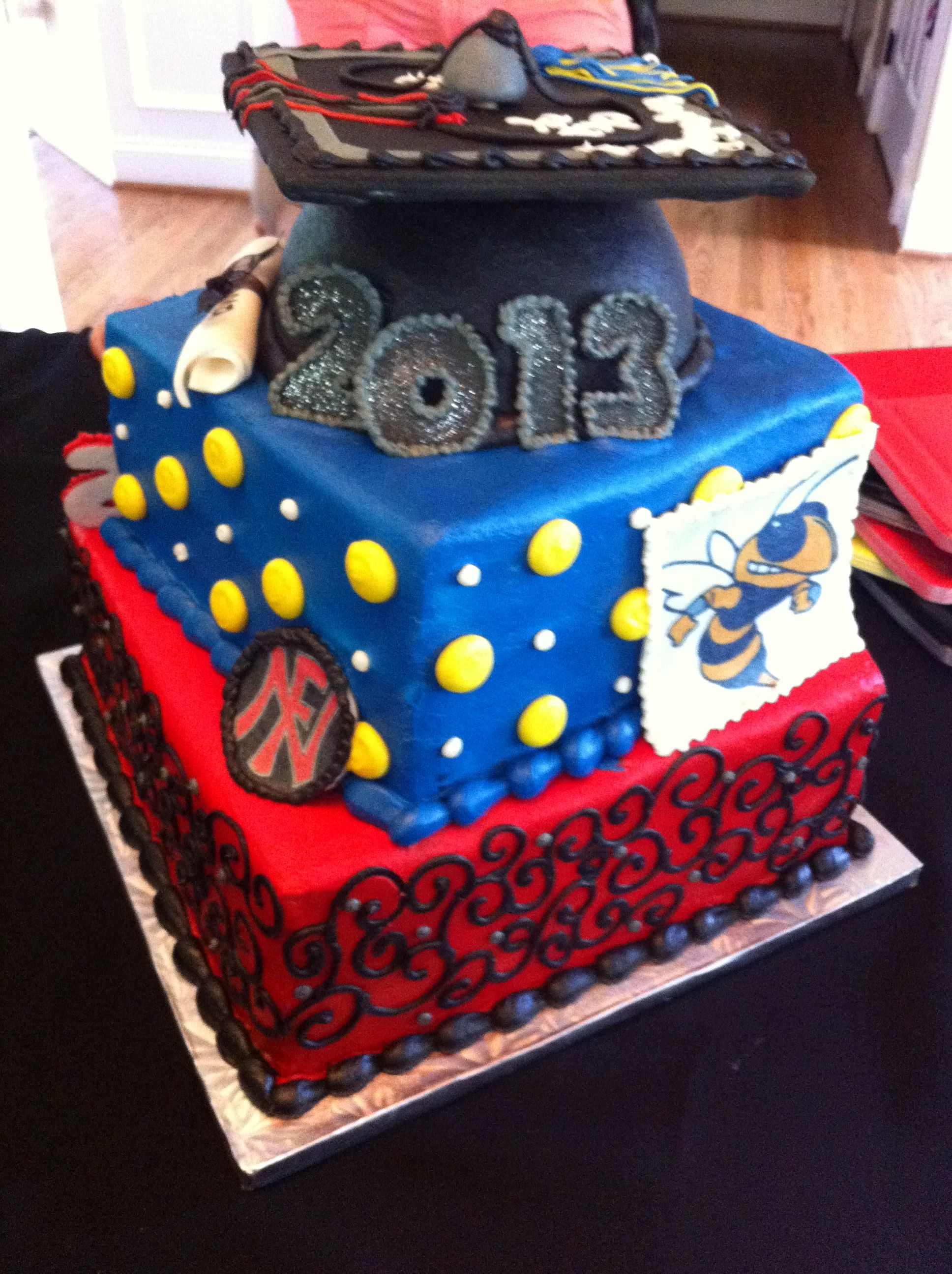 Graduation Party Cake By Lorie Helms Collins In Charlotte NC