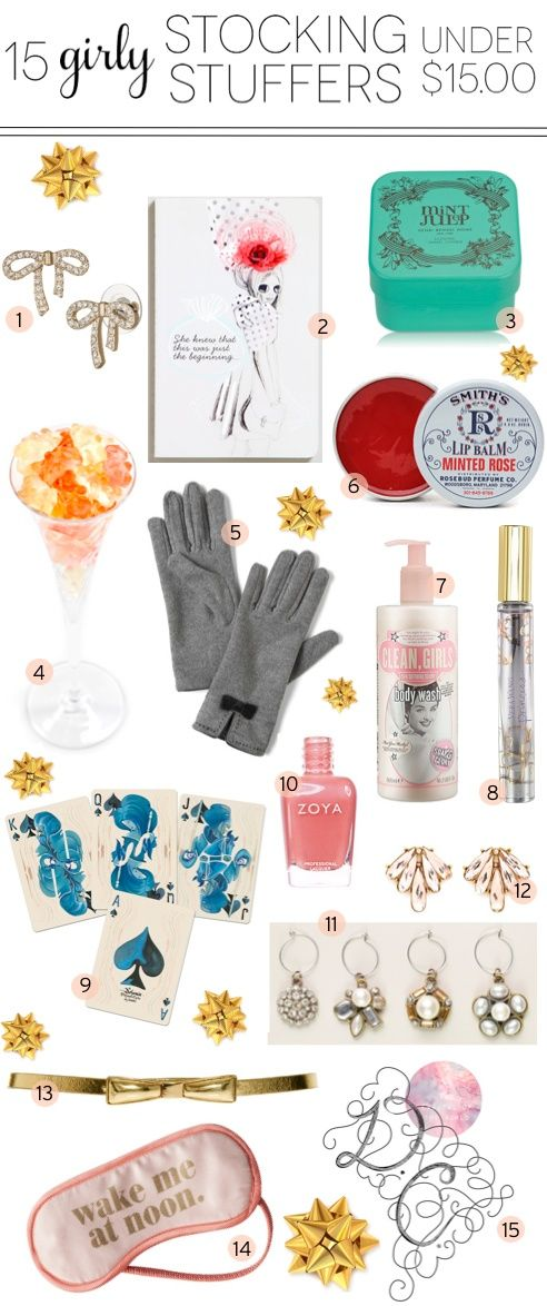Ashley In DC 15 Girly Stocking Stuffers for Under $15 Gift Giving