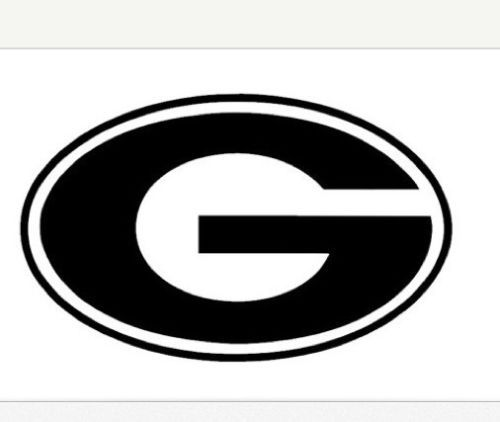 Car truck decal georgia g window vinyl black football uga other colors