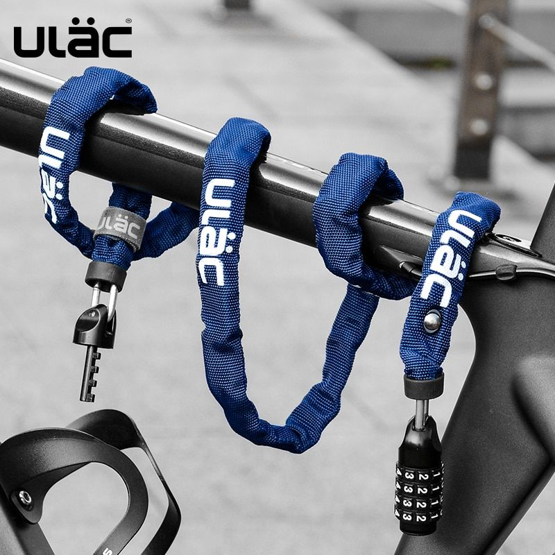 Ulac Cycling Bike Password Lock Mtb Road Bike Chain Anti Theft