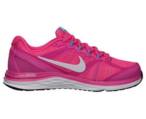 NIKE Dual Fusion Run 3 Ladies Running Shoes PinkWhite US105 -- Click image  to review more details.(This is an Amazon affiliate link and I receive a ... 6ec401d9414b