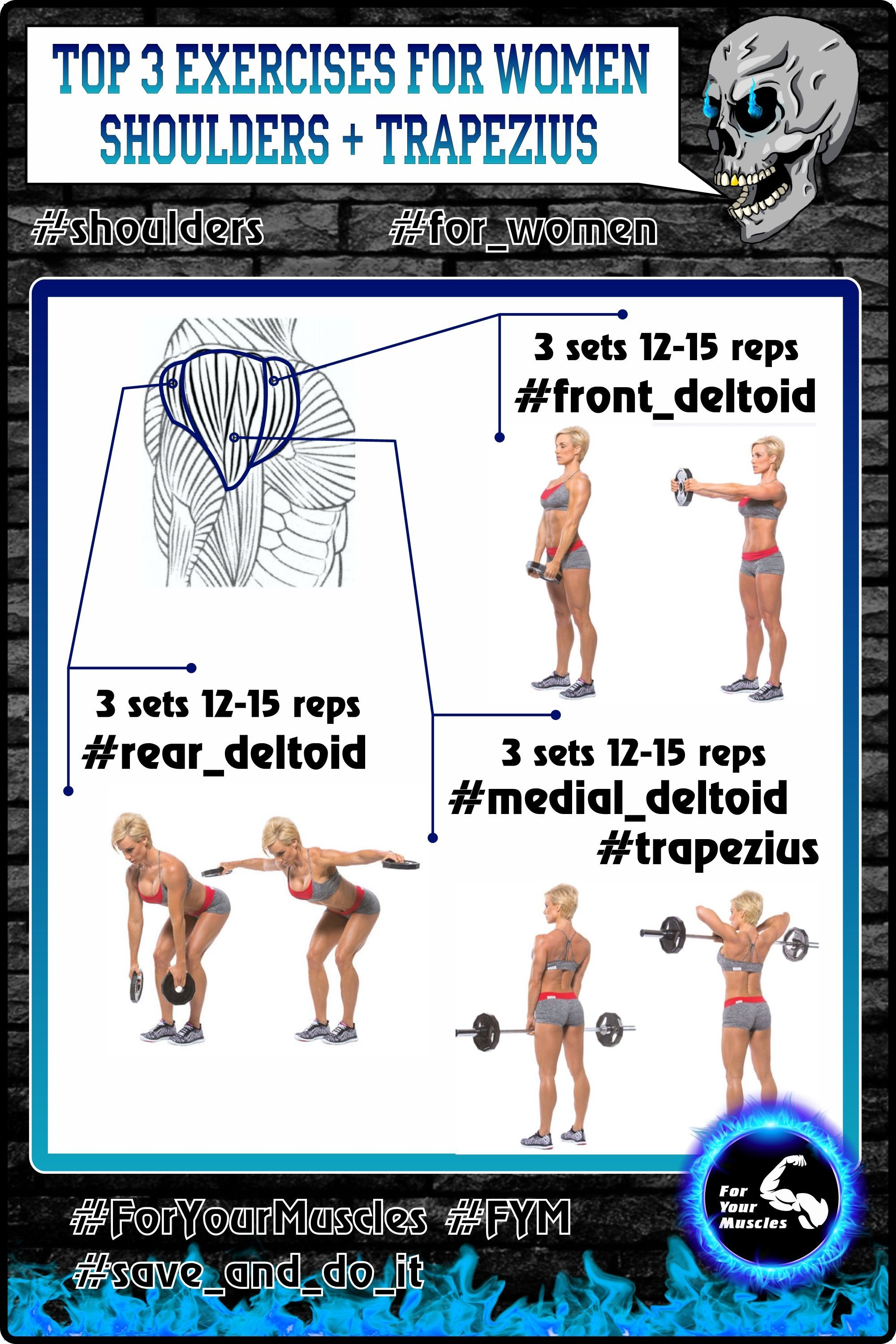Great training for your shoulders trapezius fym