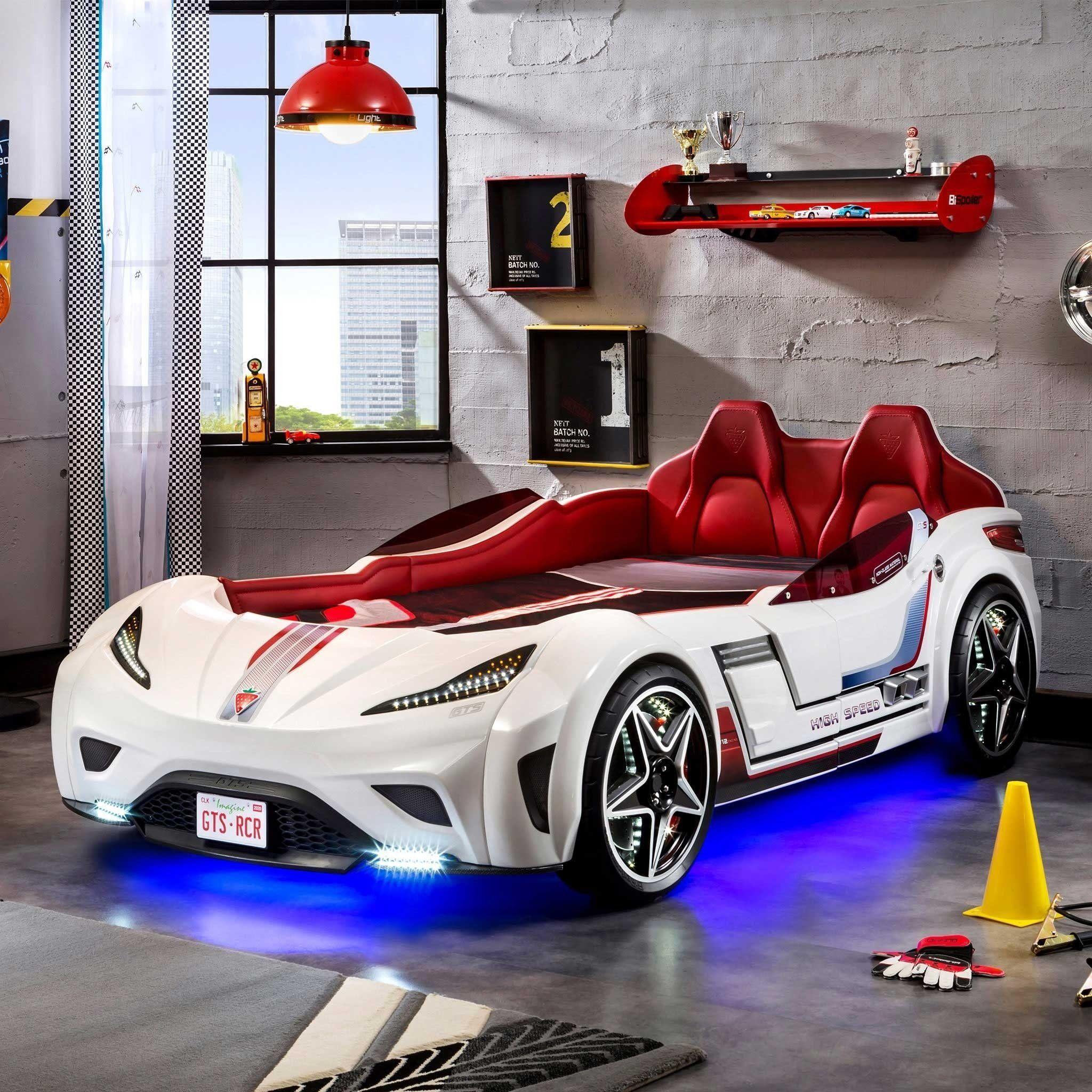 Cilek GTS Twin Race Car Bed in 2019 Twin car bed, Race