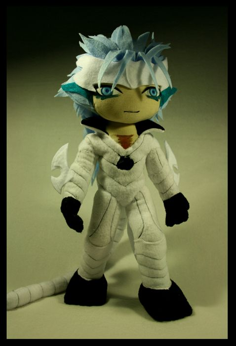 Grimmjow Pantera I have a normal Grimmjow plush, so a release form - image release form