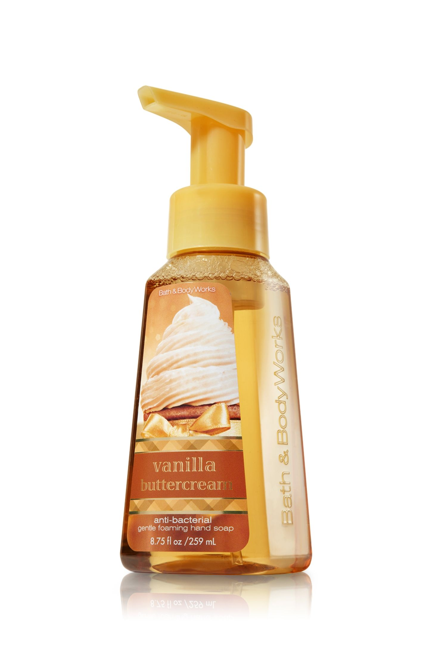 Vanilla Buttercream Gentle Foaming Hand Soap Anti Bacterial