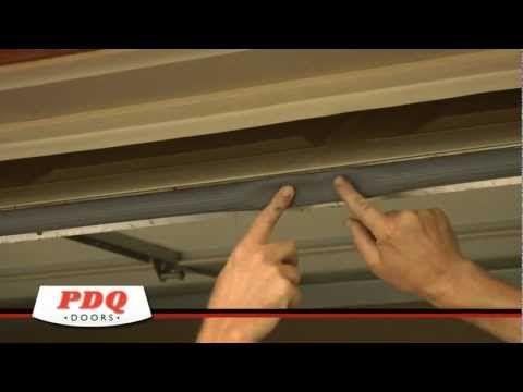 Garage Door Not Sealing Garage Door Weather Seal Options Pdq Doors Cincinnati O Garage Door Bottom Seal Garage Door Weather Seal Garage Door Weather Stripping