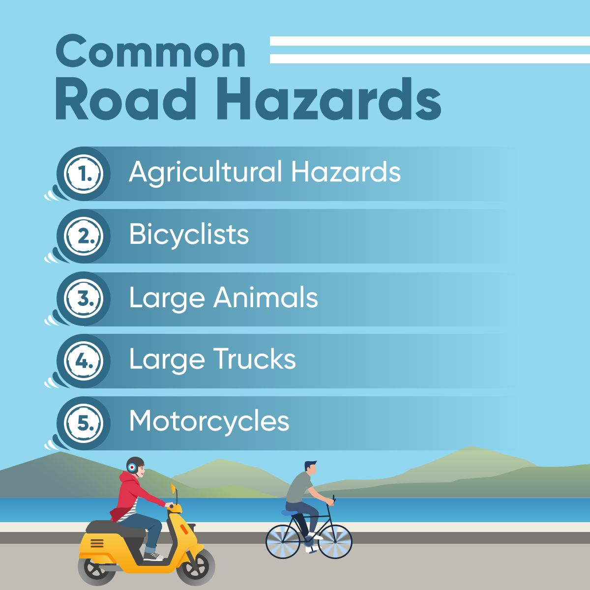 Common Road Hazards RoadHazards
