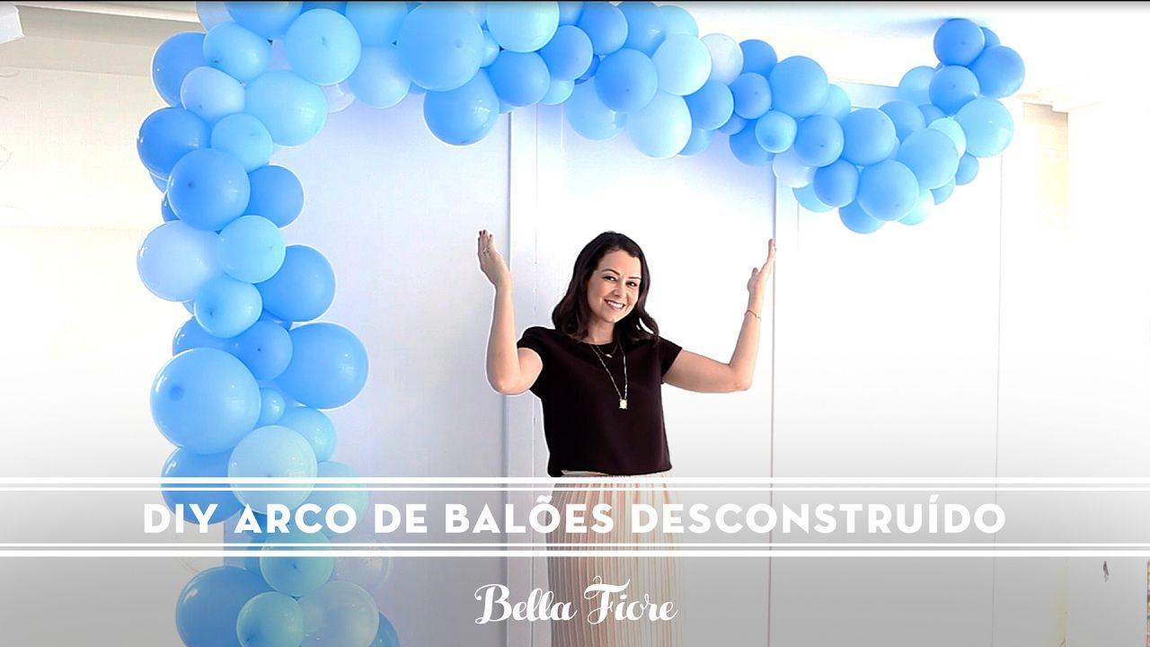 Pin De Sonia Barata Em Aniversario 4 Anos Arcos De Baloes