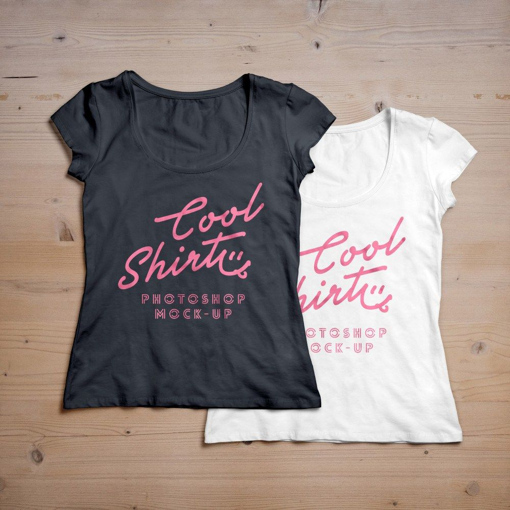 Download Free Woman T Shirt Mockup Fribly T Shirt Design Template Clothing Mockup T Shirts For Women