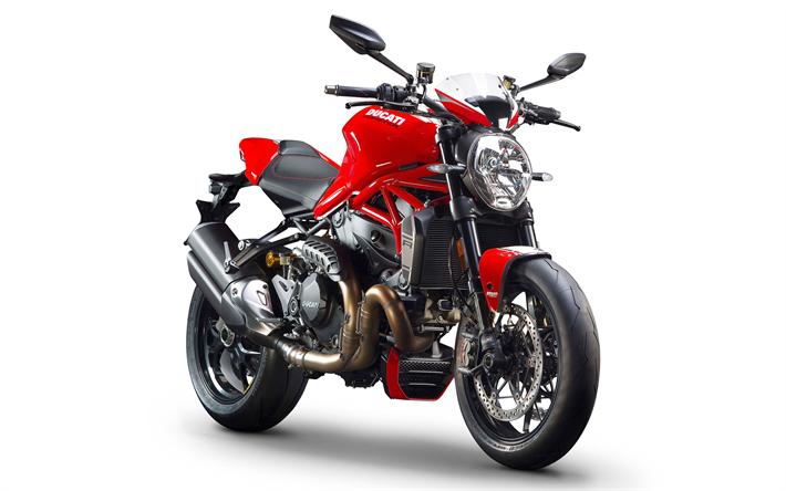 Descargar fondos de pantalla Ducati Monster 1200 R, fresco de la ...