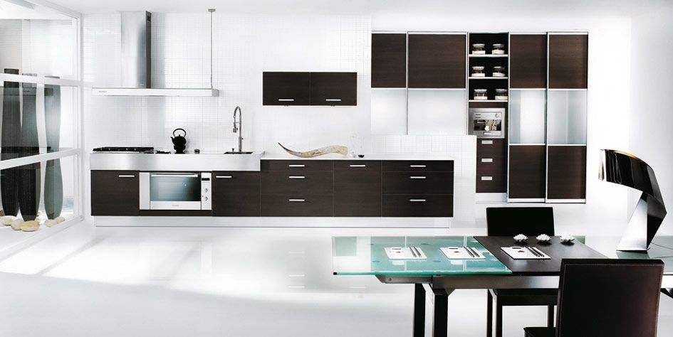 Black and white kitchen decoration the black and white kitchen is a stylish modern and beautiful kitchen black and white kitchens became favorite