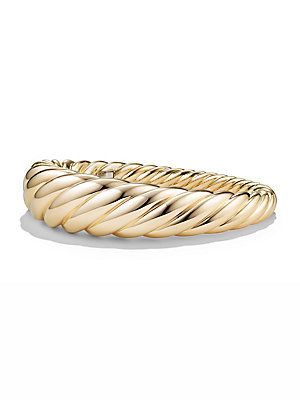 David Yurman Pure Form Cable Bracelet in 18K Gold - Gold