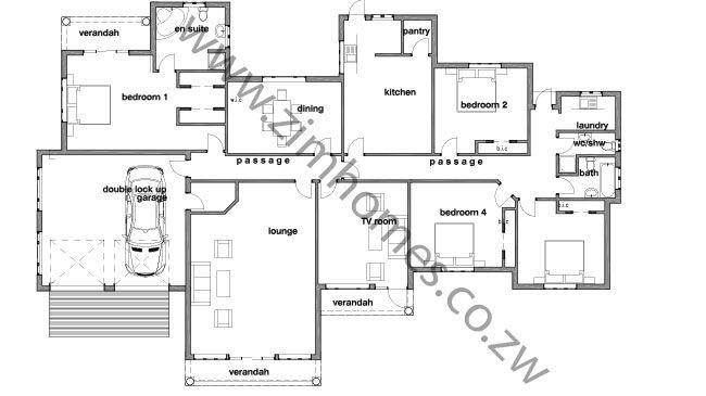 V 513 Modern One Story House Plan Bungalow Floor Plan Custom 2 Bedroom 2 Bathroom Simple Blue Print Tiny Home Ranch In 2021 Bungalow Floor Plans Bungalow House Plans Tiny House Floor Plans