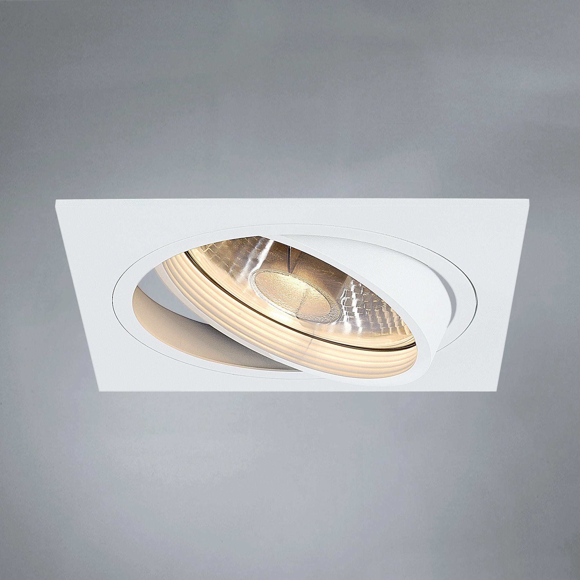 SLV NEW TRIA Einbau-Deckenleuchte, GU10 ES111 | LIGHTING | Pinterest