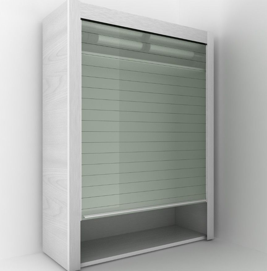 door cabinet glass roller shutter buy kitchen for cupboard