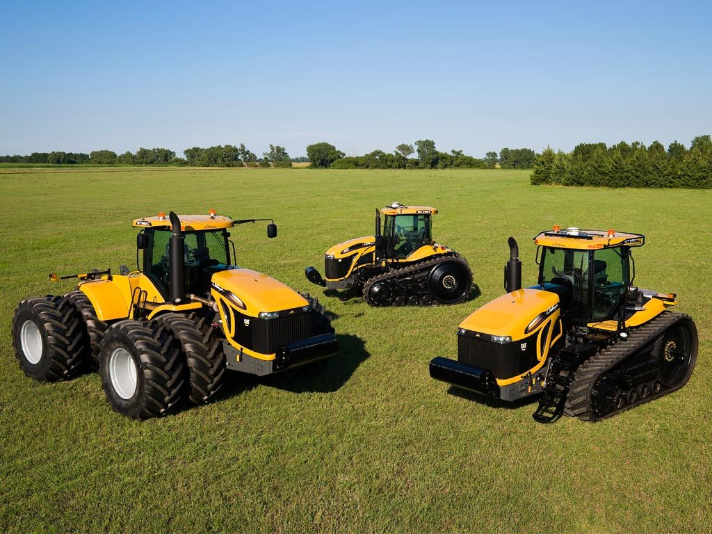 Farm Machinery And Equipment : Caterpillar ag equiptment farm tractors cat challenger