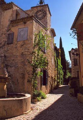 The Côtes du Rhône village of Séguret.