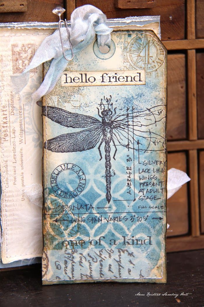 Anne's paper fun: Tag & envelope