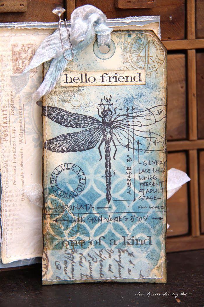 Anne's paper fun: Tag & envelope