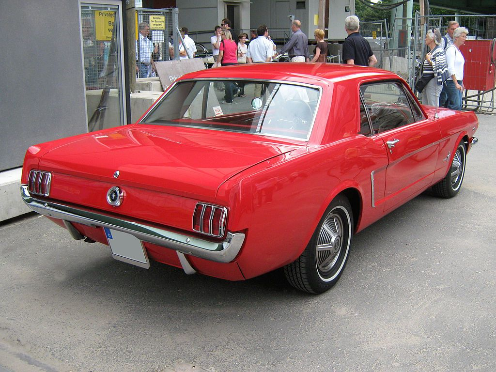 1965 ford mustang 2d hardtop heck ford mustang first generation wikipedia the free encyclopedia
