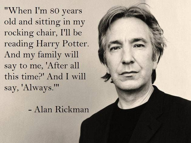 Alan Rickman - Always