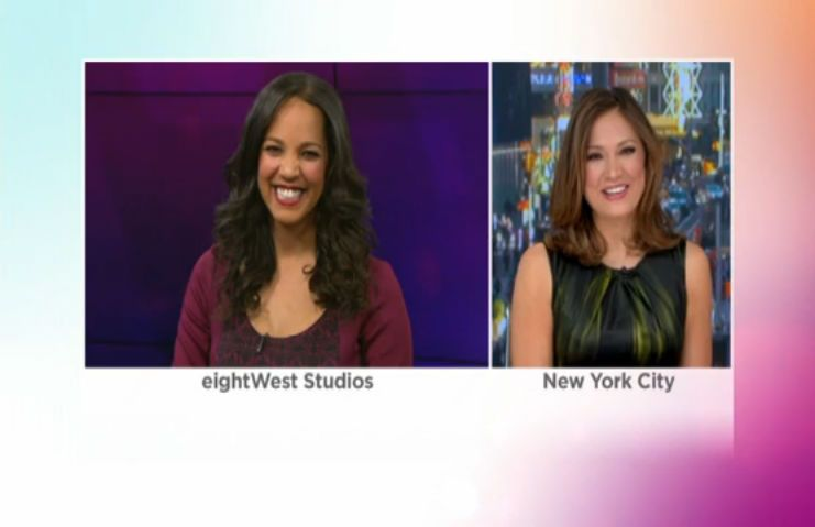 Chief meteorologist from Good Morning America Ginger Zee
