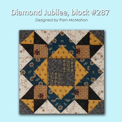 100 Blocks Sampler Sew Along   Block 36