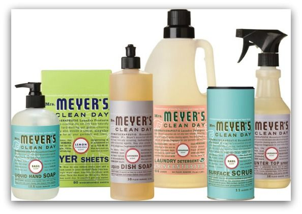 Mrs Meyer S Product Reviews Eat Drink Shrink Meyers Cleaning Products Organic Cleaning Products Cleaning Day