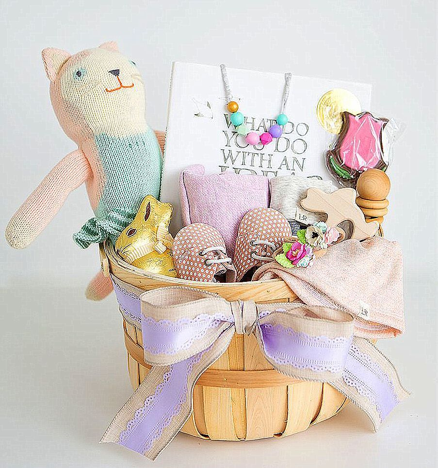 A Baby's First Easter Basket