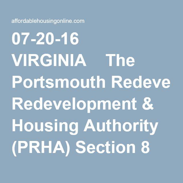 Portsmouth Redevelopment Housing Authority In Virginia Portsmouth Virginia Author