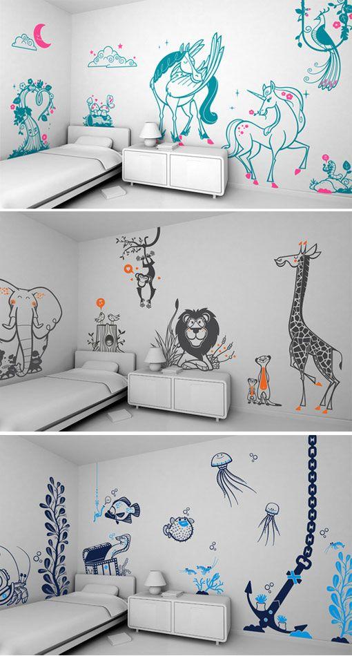 E Glue Wall Decals Design Work Life Kid Room Decor Baby Room Decor Kids Room Wall