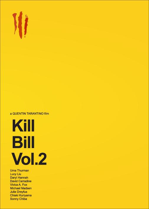 Kill Bill Vol 1 & 2 by Gidi Vigo