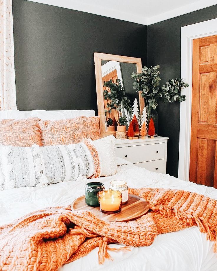 boho bedroom - A mix of mid-century modern, bohemian, and ... on Modern Bohemian Bedroom Decor  id=75247
