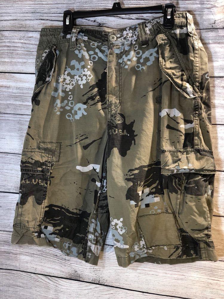 5b6bf83635 Z Brand Camo Cargo Shorts - Men's Size 32 #ZBrand #Cargo | Dragonfly ...