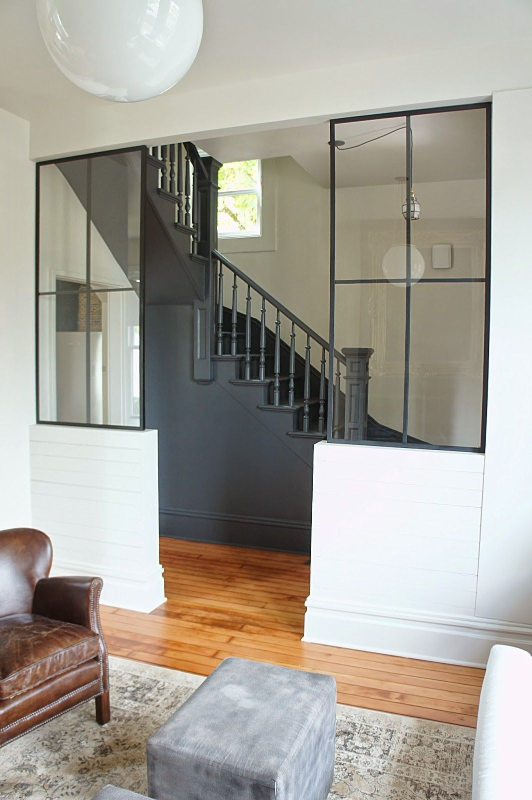 Chic design investments custom steel and glass partition walls