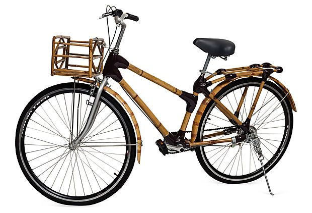 This bamboo city bike from our shopping trip through Vietnam has the whole office swooning!