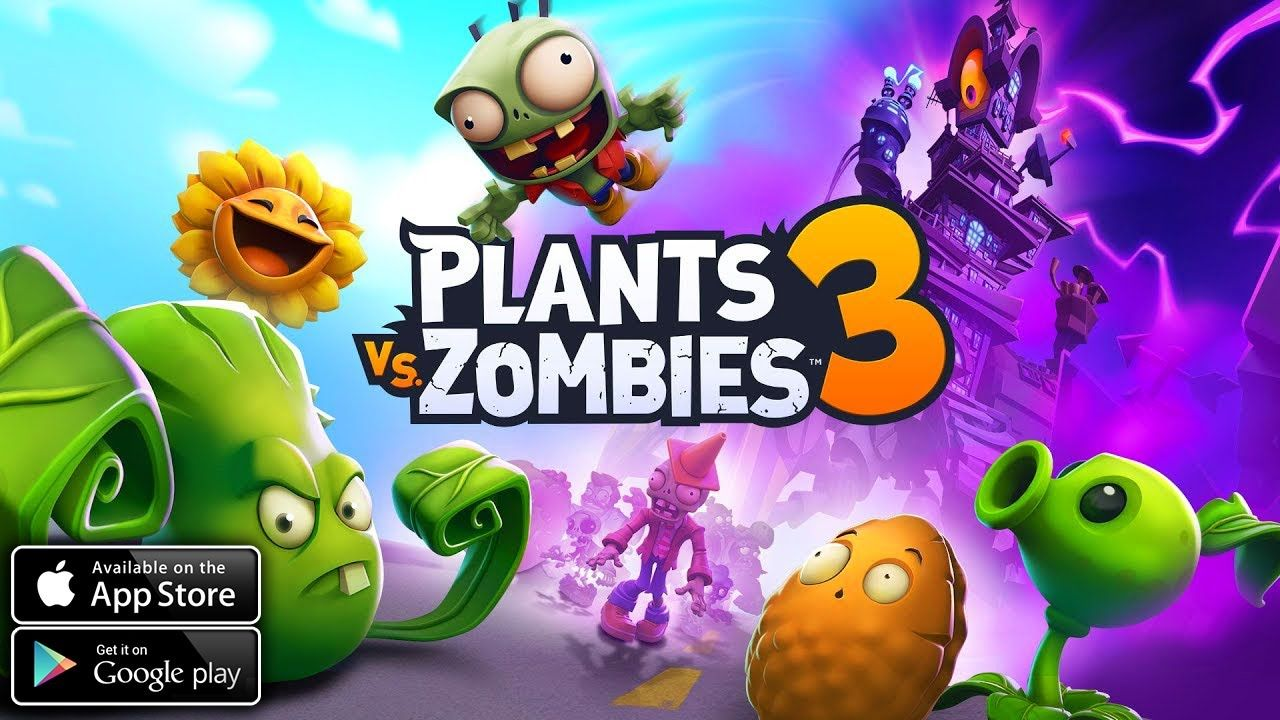 Plants Vs Zombies 3 Android Ios Gameplay In 2020 Plants Vs
