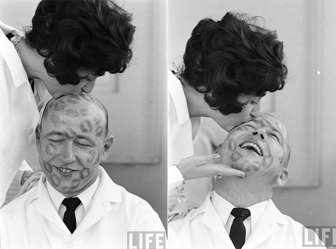 Testing Lipsticks in the 1950s