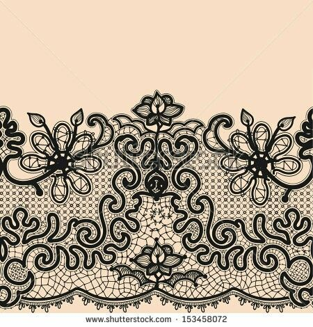 Garter Band Ideas Lace Drawing Lace Patterns Lace Doilies