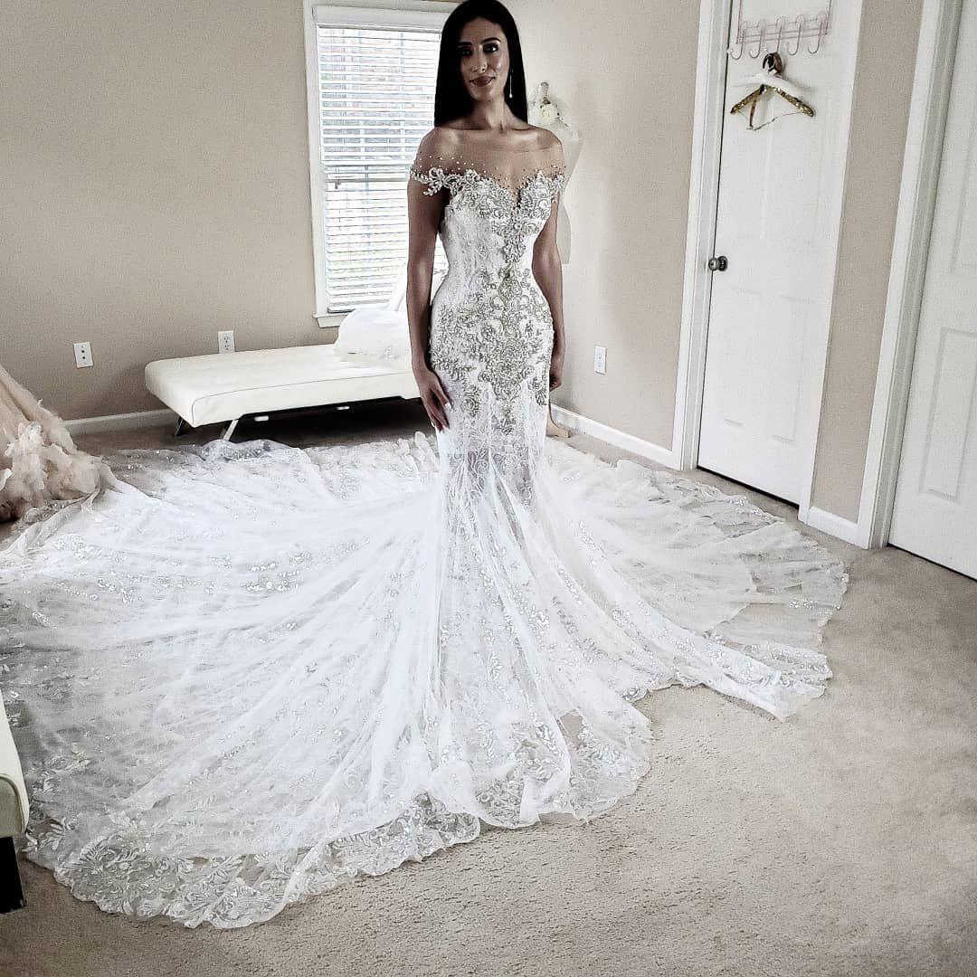 Luxury Wedding Gown Designer On Instagram Lebanese Bride Shannon Traveled To Atlanta To See The Magic Designer Wedding Gowns Wedding Dresses Gown Inspiration [ 1080 x 1080 Pixel ]