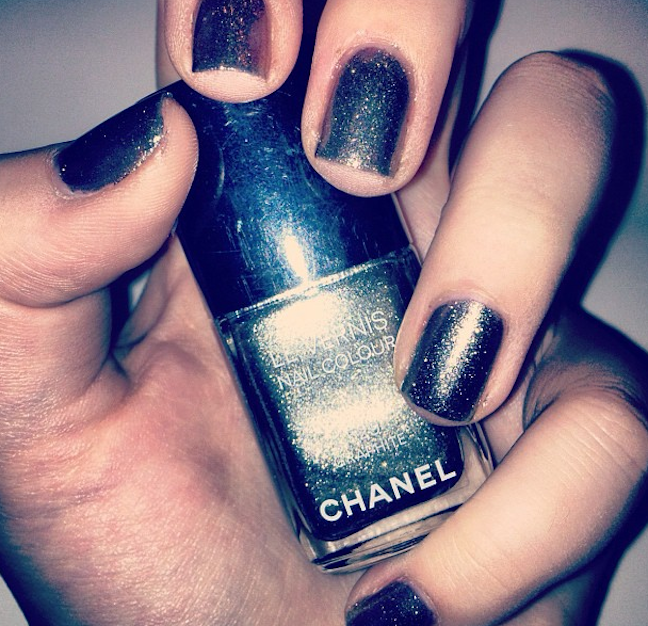 Definitely going to be the nail polish of going out this fall! #Chanel #party
