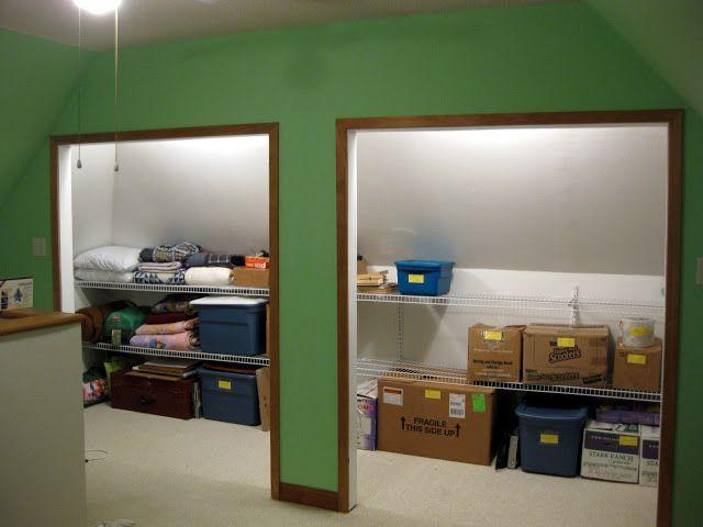 Crawl space storage