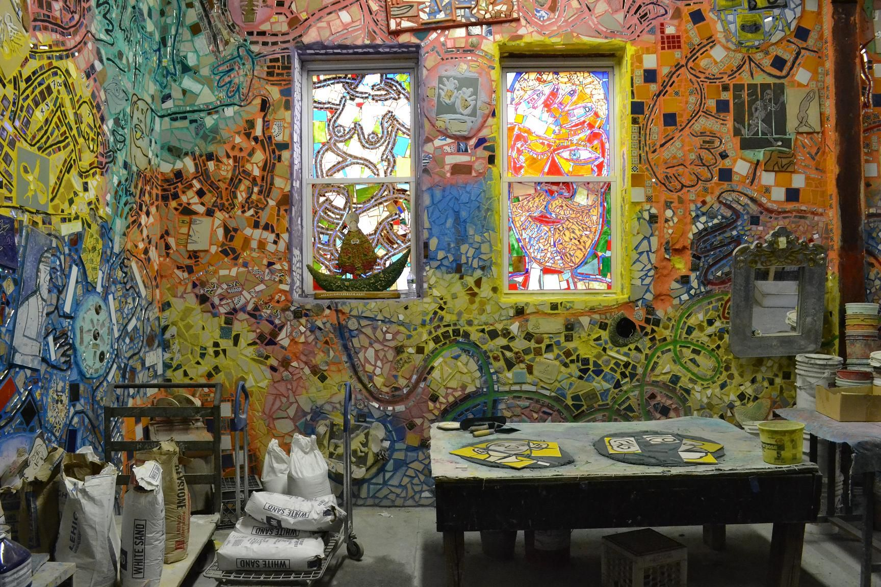 Isaiah ZAGAR Philadelphias Magic Gardens Isaiah ZAGAR Pinterest