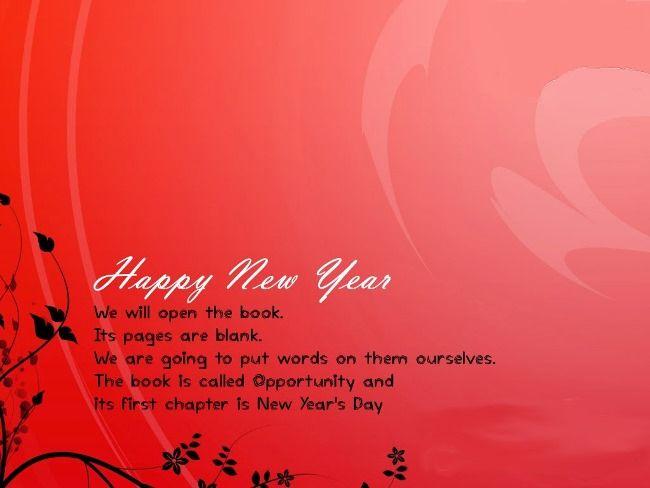 Happy New Year Rose Wallpaper 2018