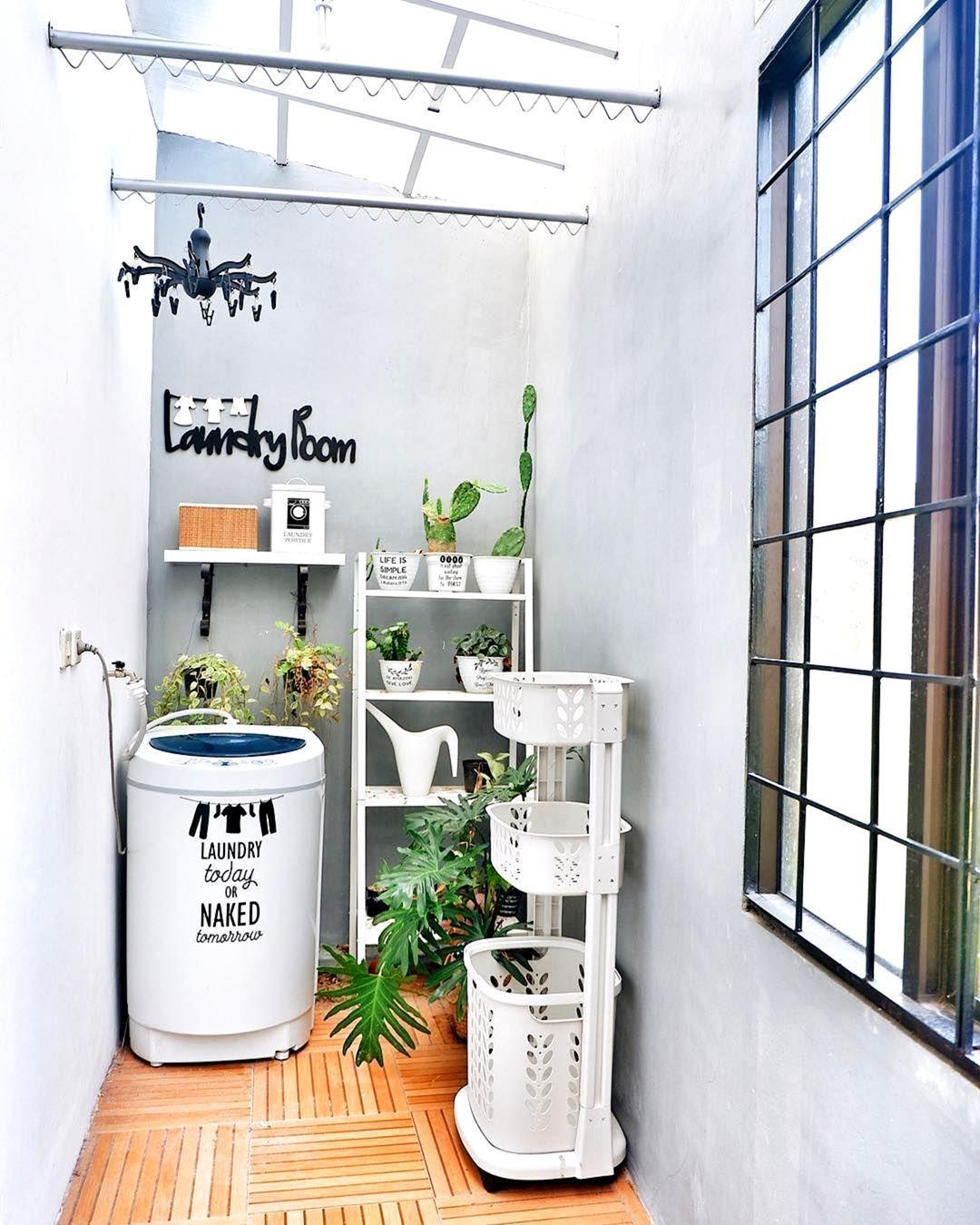 Look Fresh With 7 Minimalist Laundry Room Decoration Ideas Outdoor Laundry Rooms Laundry Room Design Laundry Room Decor Laundry room design ideas