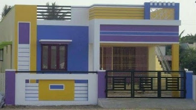 Best 60 Modern House Front Facade Design Exterior Wall Decoration 2019 House Front Design Duplex House Design Small House Elevation Design