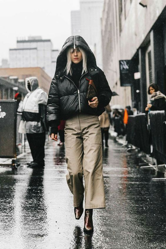 Trend Alert And Must Have For 2018 Cropped Pants High Waist