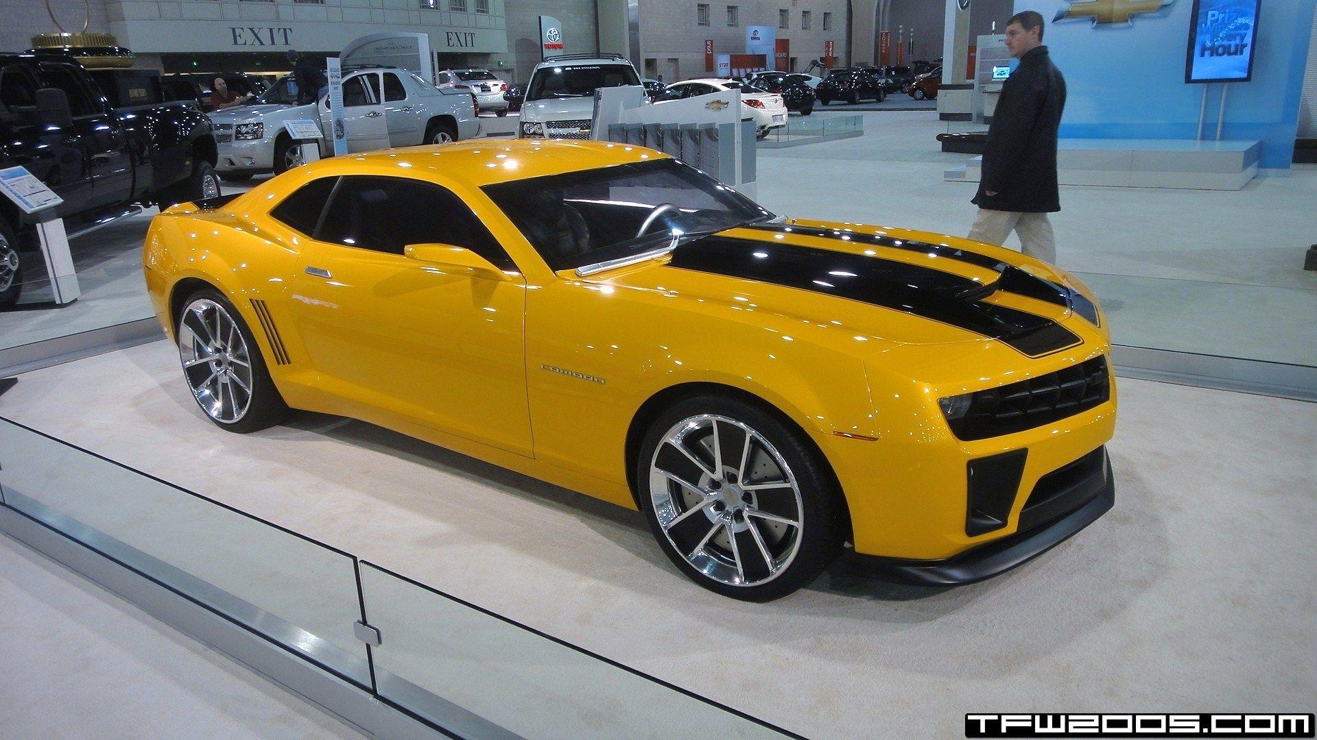 Transformers movie bumblebee camaro up close transformer - Transformers bumblebee car wallpaper ...