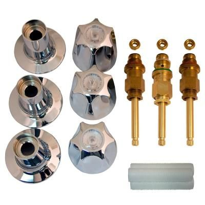 Lincoln Products Tub And Shower Rebuild Kit For Arrowhead 3 Handle Faucets Shower Tub Faucet Tub
